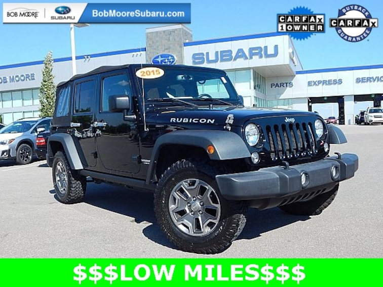 Used 2015 Jeep Wrangler Unlimited Rubicon SUV for sale in Oklahoma City