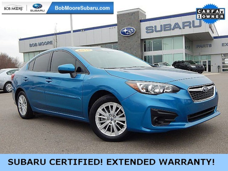 Certified Pre-Owned 2018 Subaru Impreza 2.0i Premium Sedan Oklahoma City