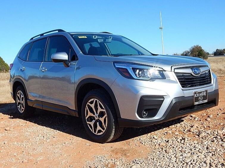 New 2019 Subaru Forester Premium SUV KH418300 for sale in Oklahoma City