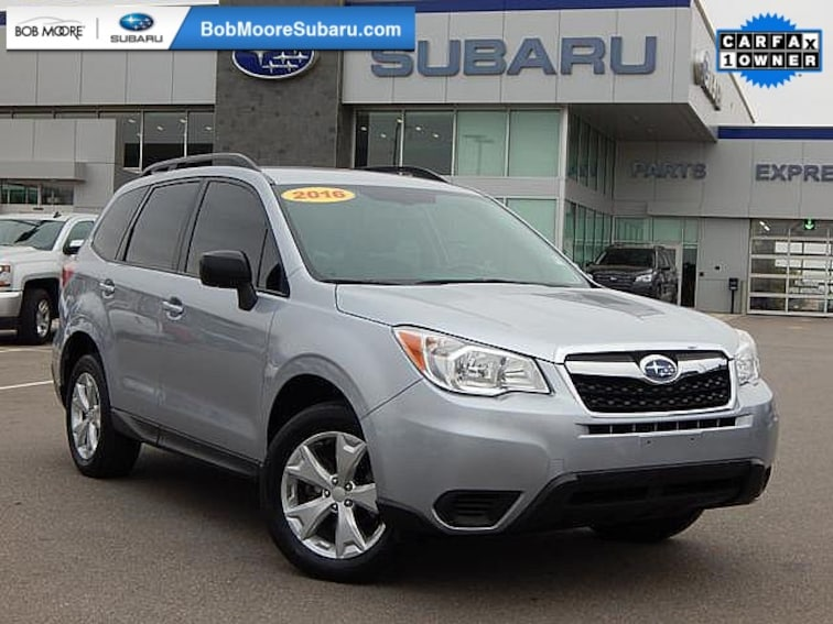Used 2016 Subaru Forester 2.5i SUV for sale in Oklahoma City