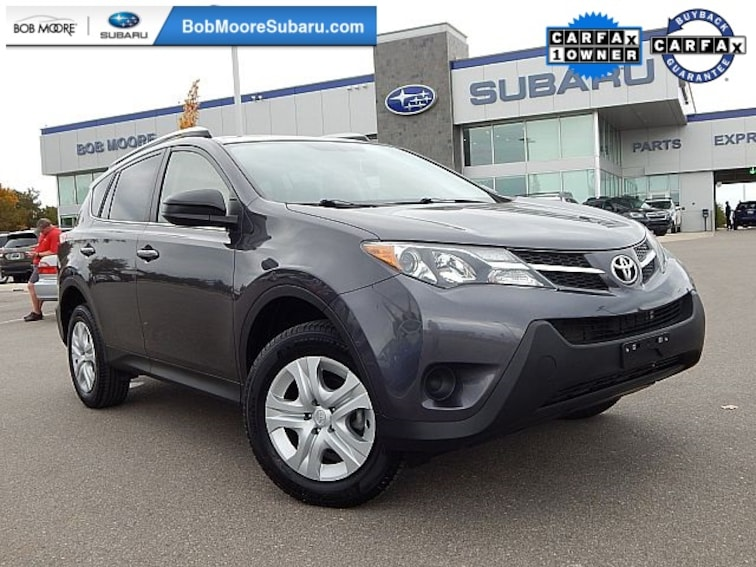 Used 2015 Toyota RAV4 LE SUV for sale in Oklahoma City