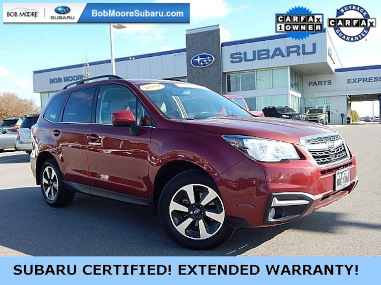 Certified Pre-Owned 2017 Subaru Forester 2.5i Limited SUV Oklahoma City