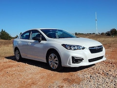 New 2019 Subaru Impreza 2.0i Sedan K3606471 in Oklahoma City