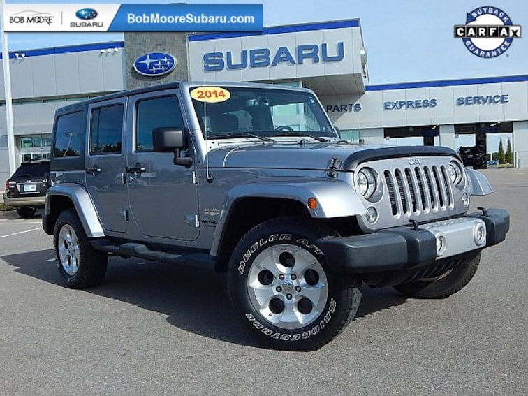 Used 2014 Jeep Wrangler Unlimited Sahara SUV for sale in Oklahoma City