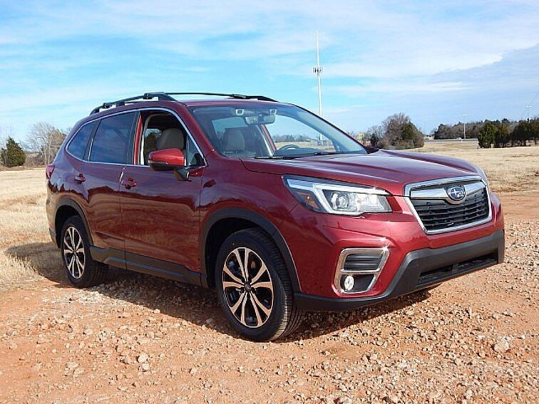 New 2019 Subaru Forester Limited SUV KH480409 for sale in Oklahoma City