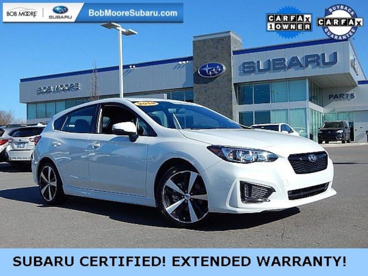 Certified Pre-Owned 2018 Subaru Impreza 2.0i Sport Hatchback Oklahoma City