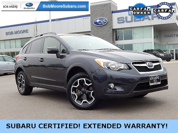 Certified Pre-Owned 2015 Subaru XV Crosstrek 2.0i Limited SUV Oklahoma City