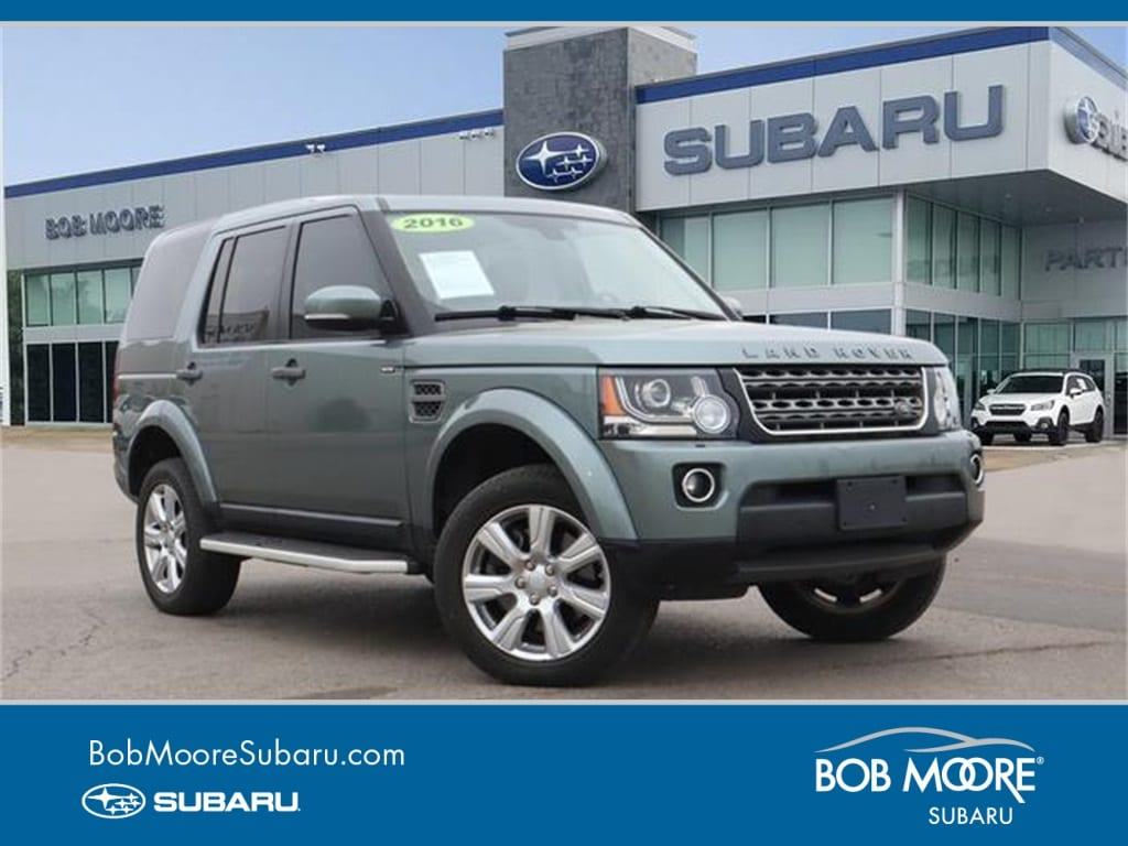 Featured Used 2016 Land Rover LR4 Base SUV for sale in Oklahoma City