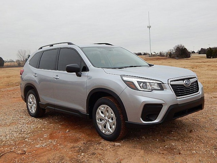 New 2019 Subaru Forester Standard SUV KH445526 for sale in Oklahoma City