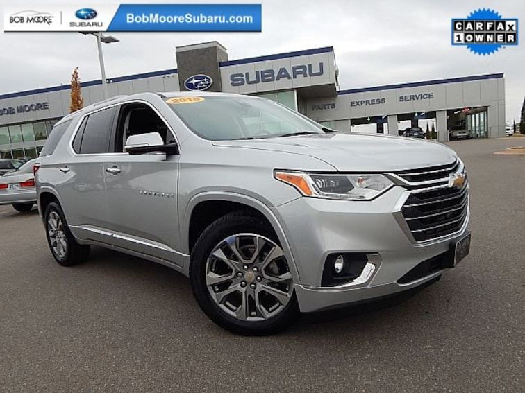 Used 2018 Chevrolet Traverse Premier SUV for sale in Oklahoma City