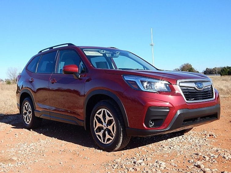 New 2019 Subaru Forester Premium SUV KH427933 for sale in Oklahoma City