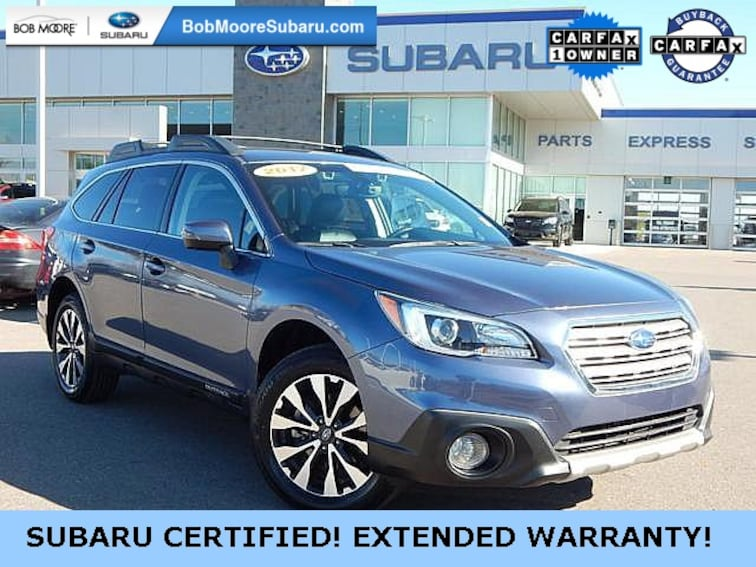 Certified Pre-Owned 2017 Subaru Outback 2.5i SUV Oklahoma City