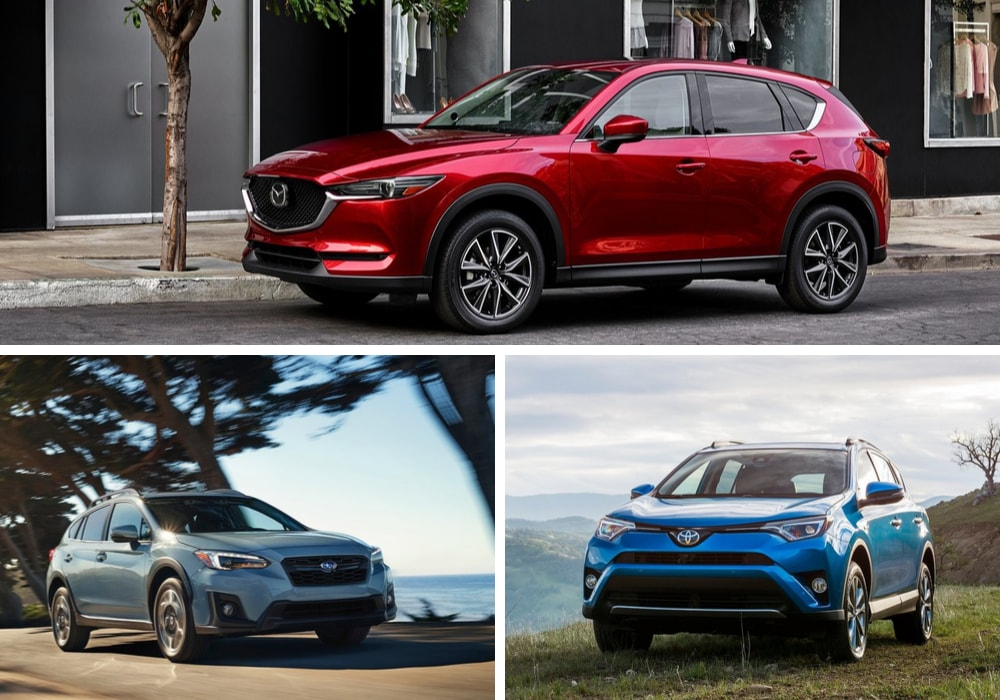 Toyota RAV4 Mazda CX-5 and Subaru Crosstrek continue to be some of the best small suvs to buy