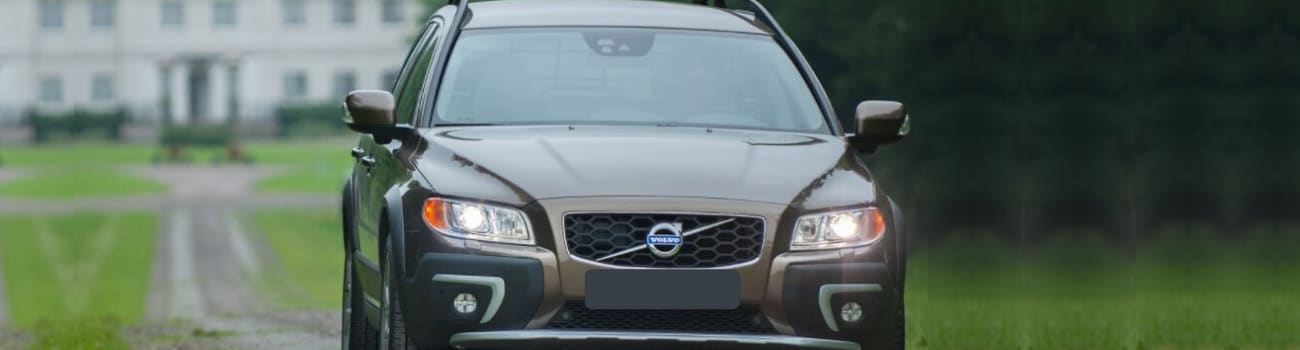 Used 2016 Volvo XC70 crossover wagon dirt path estate driveway