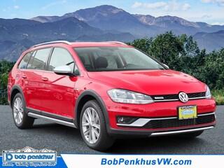 New 2019 Volkswagen Golf Alltrack TSI S 4MOTION Wagon Colorado Springs