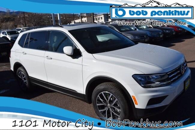 New 2019 Volkswagen Tiguan 2.0T SE 4MOTION SUV Colorado Springs