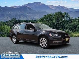 New 2019 Volkswagen Golf SportWagen 1.4T SE Wagon Colorado Springs