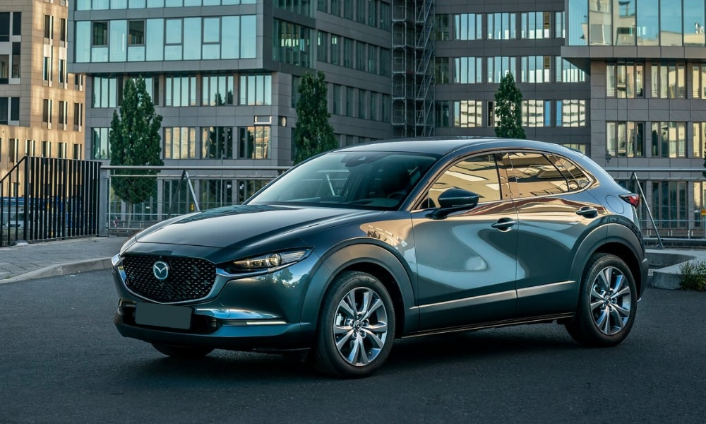 2020 Mazda CX-30 exterior metallic paint