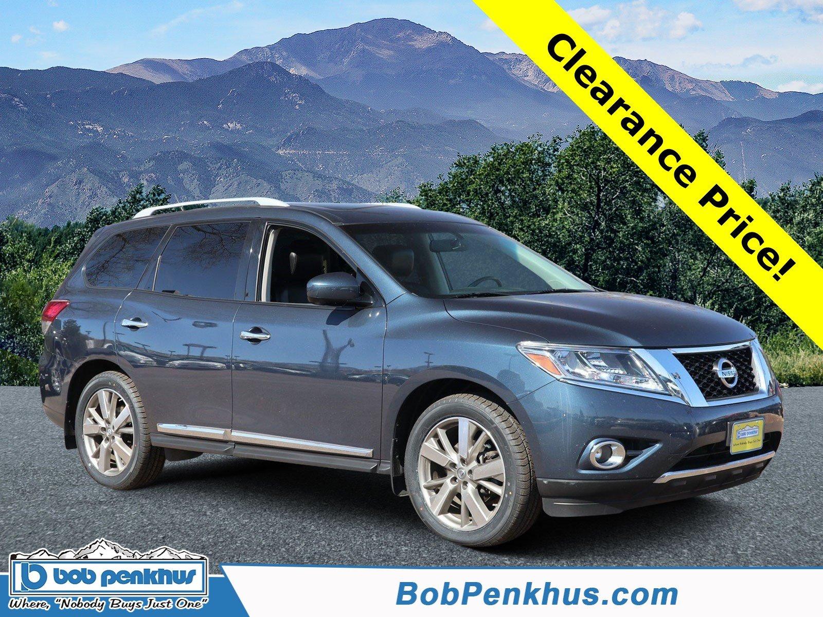 2014 Nissan Pathfinder Platinum 4WD  Platinum