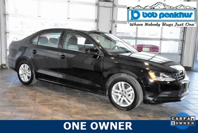 Used 2018 Volkswagen Jetta 1.4T S Sedan Colorado Springs