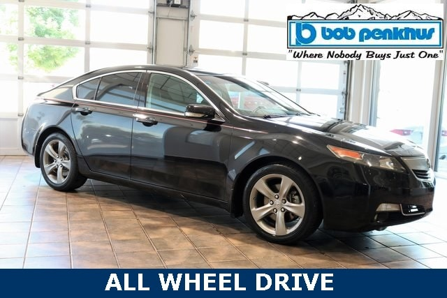 2012 Acura TL TL SH-AWD with Technology Package Sedan