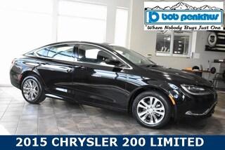 Used 2015 Chrysler 200 Limited Sedan 1C3CCCAB7FN708509 in Colorado Springs, CO