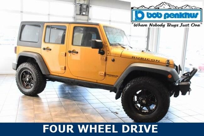 Used 2014 Jeep Wrangler Unlimited Rubicon 4x4 SUV Colorado Springs