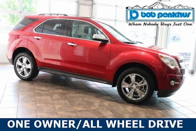 Used 2015 Chevrolet Equinox LTZ SUV Colorado Springs