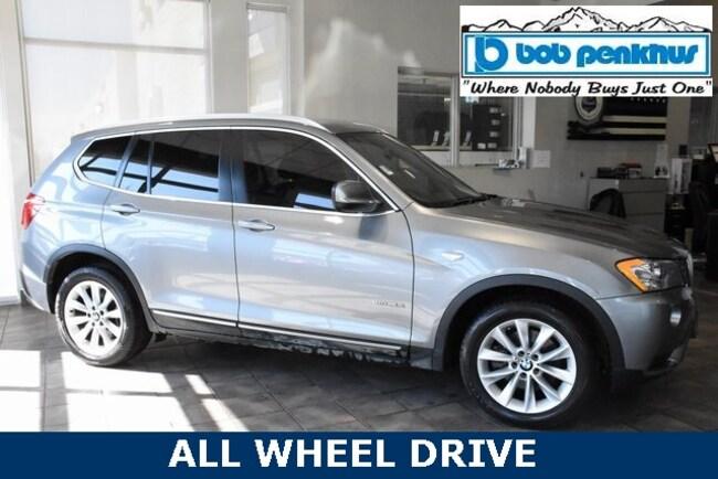 Used 2013 BMW X3 xDrive28i SAV Colorado Springs