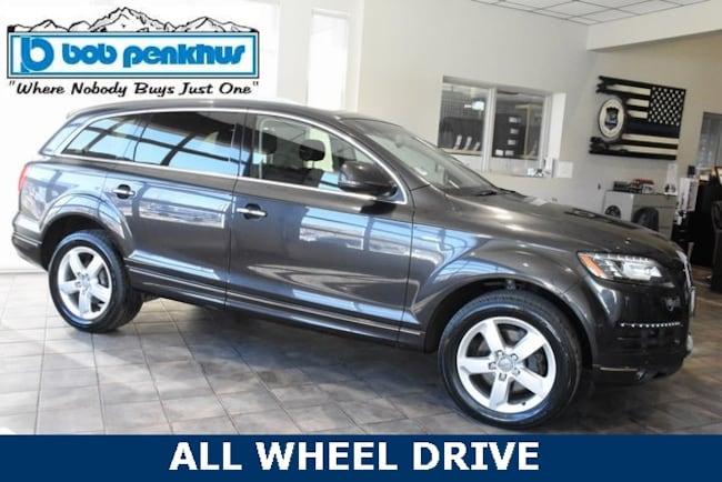 Used 2015 Audi Q7 3.0T Premium (Tiptronic) SUV Colorado Springs