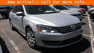 Used 2012 Volkswagen Passat 2.5L S Sedan Colorado Springs