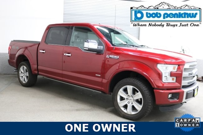 Used 2015 Ford F-150 Truck SuperCrew Cab Colorado Springs