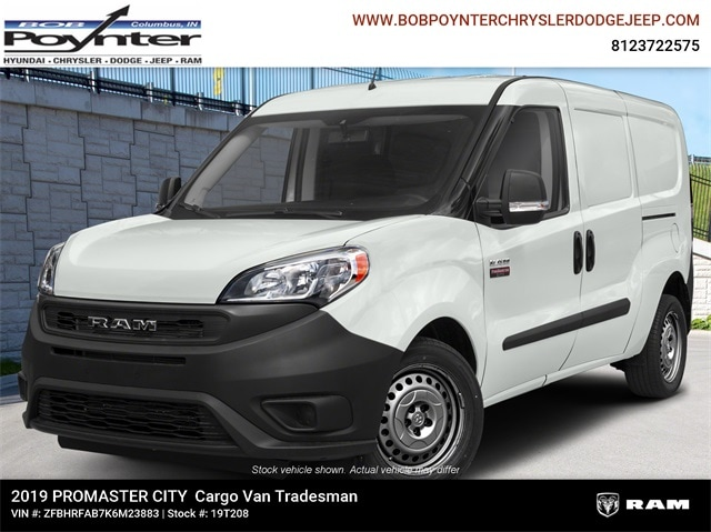 New 2019 Ram ProMaster City TRADESMAN CARGO VAN Cargo Van Columbus Indiana