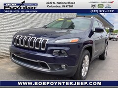 Used 2015 Jeep Cherokee SUV Columbus Indiana