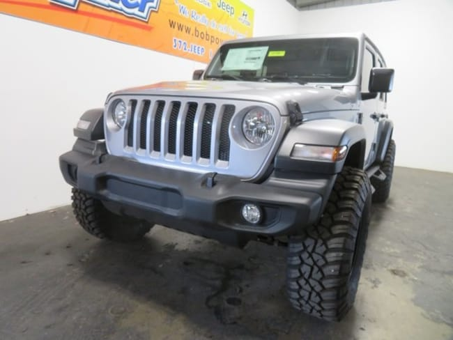 New 2018 Jeep Wrangler UNLIMITED SPORT 4X4 Sport Utility Columbus, IN