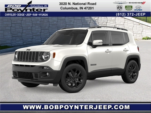 New 2018 Jeep Renegade ALTITUDE FWD Sport Utility Columbus Indiana