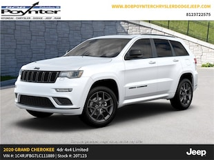 2020 Jeep Grand Cherokee LIMITED X 4X4 Sport Utility