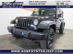 2016 Jeep Wrangler Unlimited Sport SUV 1C4BJWDG4GL345685 for Sale in Columbus, IN