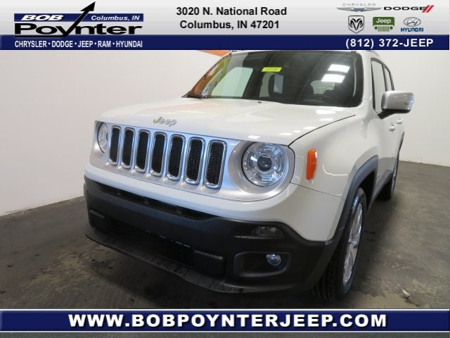 New 2018 Jeep Renegade LIMITED 4X2 Sport Utility Columbus Indiana