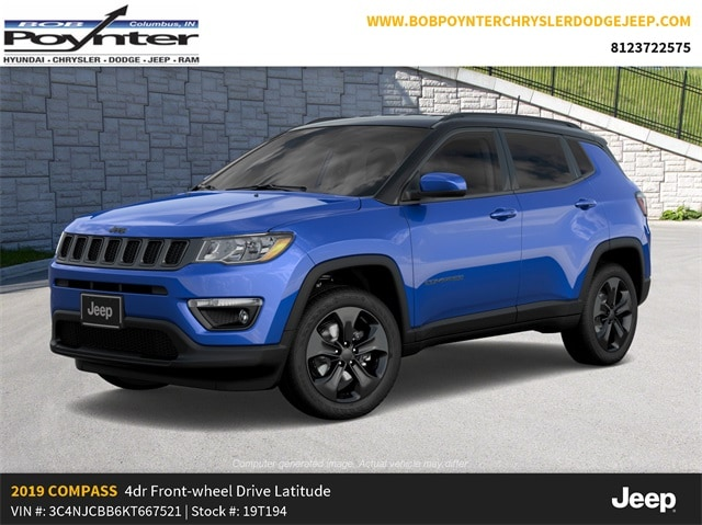 New 2019 Jeep Compass ALTITUDE FWD Sport Utility Columbus Indiana