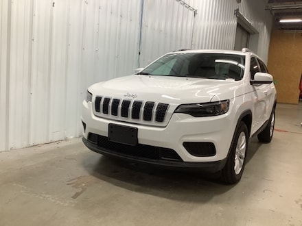 New 2020 Jeep Cherokee LATITUDE FWD Sport Utility Columbus Indiana