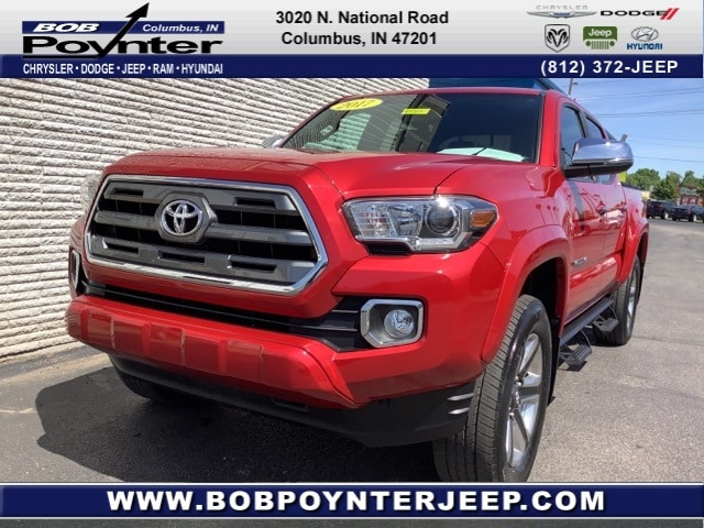 2017 Toyota Tacoma Limited Truck