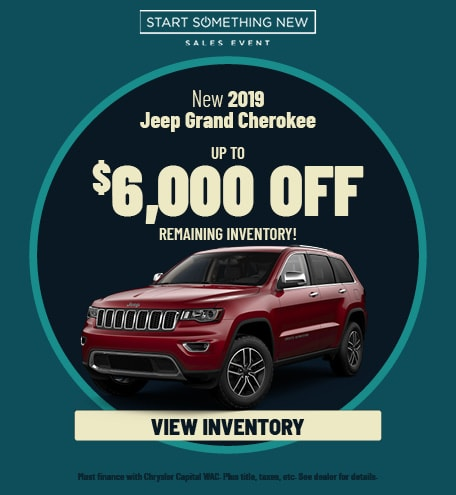January | 2019 Jeep Grand Cherokee