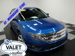 2012 Ford Fusion SE Moonroof Sync Voice Activated Sedan