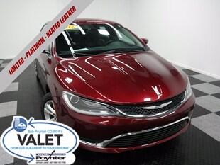 2017 Chrysler 200 Limited Platinum Heated Leather Sedan
