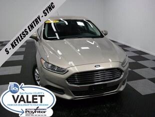 2015 Ford Fusion S Keyless Entry Sync Sedan