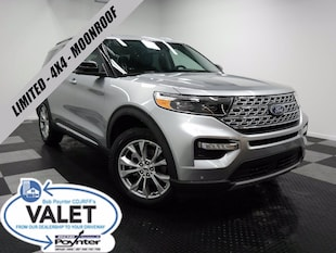 2020 Ford Explorer Limited 4x4 Moonroof Ecoboost SUV