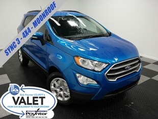 2020 Ford EcoSport SE 4X4 Backup Camera Sync 3 SUV
