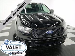 2020 Ford Ranger XLT Black 4x4 Supercrew Ecoboost Truck