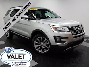 2016 Ford Explorer Limited 4x4 Heated Leather Navigation SUV